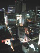 """Udsigten fra hotellet. Vi boede på deres såkaldte """"sky floor"""", hvilket vil sige næstøverst."""