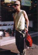 Mange af de koreanske fyre gik med dametasker. Den var aldrig gået hjemme på Strøget.