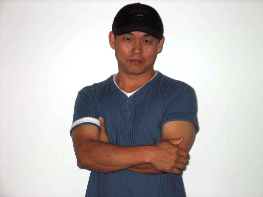 Den sydkoreanske filminstruktør Kim Ki-duk (2005). The South Korean film director Kim Ki-duk (2005).